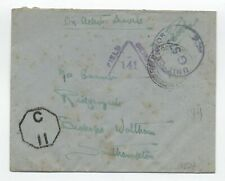 Wwi British field post cover India? [y5748]