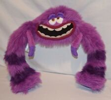 Disney Pixar Stuffed Animal Monster University Inc Art Purple Legs Move 28""
