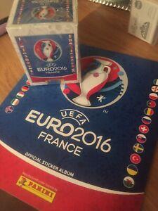 Panini Euro 2016 Album And Sealed Sticker Box