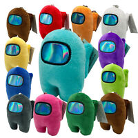 10cm Among Us Plushie Toy Game Plush Stuffed Keychain Pendant Doll Gift For Kids