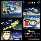 Sonic All Stars Transformed Super Race Track - Remote Power Light Up Cars Tested