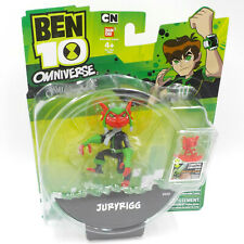 Ben 10 Omniverse Action Figure Juryrigg w/ Omnitrix Challenge Game Mini Alien