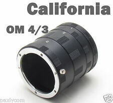 Olympus Macro Extension Tube Ring OM 4/3 Mount EVOLT E-600 450 620 520 400 Lumix