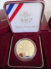 NIB US OLYMPIC COINS THE ATLANTA CENTENNIAL GAMES GYMNAST SILVER PROOF COIN 1995