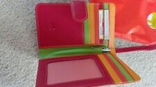 mywalit wallet for women in soft nappa leather, colourful BRAND NEW