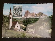 SAN MARINO MK 1964 SASSOLUNGO DOLOMITI BERGE MAXIMUMKARTE MAXIMUM CARD MC c7716