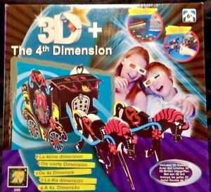 4th Dimension Horse Carriage  Color & decorate kit Ages 6 +  AMAV New Christmas