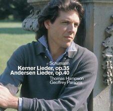 Schumann cinque canzoni precoce, op. posth./dodici canzoni di Justinus Kerner,... CD []