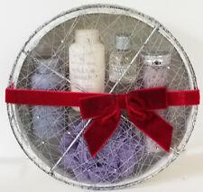 BODY SHOP 5 piece WHITE MUSK gift SET eau de toilette LOTION gel BATH CRYSTALS +