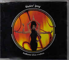 Livin Joy-Follow The Rules cd maxi single 6 tracks