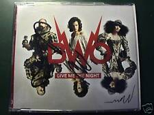 BWO Bodies Without Organs GIVE ME THE NIGHT Signed CD