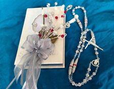 BIBLIA Y ROSARIO PARA BODA/ Libro Y Rosario / Bible And rosary Wedding Gift/ Slv