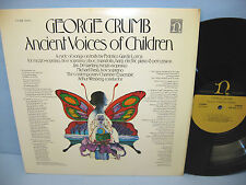 George Crumb: ANCIENT VOICES OF CHILDREN Nonesuch H-71255