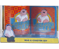 NUOVO ufficiale Family Guy Set Regalo presenta Family Guy TAZZA & Coaster Set