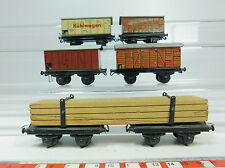 az361-1 #5x TTR / Trix Express H0/DC TIN GOODS WAGONS: 2063 DRG +2062 +2070 etc.