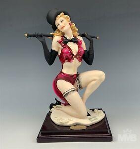 Giuseppe Armani Florence Italy Liza # 1296C Cabaret Dancer Signed Figurine JJL