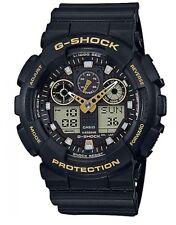 Casio G-Shock *GA100GBX-1A9 Black & Gold Anadigi Watch COD PayPal Ivanandsophia