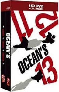 Coffret ocean's : 11 ; 12 ; 13 [3 HD DVD] - VERSION FRANÇAISE - COMME NEUF