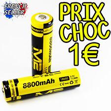 PILE ACCU RECHARGEABLE 18650 3.7v 8800mAh Li-ion BATTERIE Prix sacrifié !! CHOC