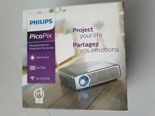 Proyector de bolsillo PicoPix Philips PPX4935 720P HD LED 350 lúmenes Recargable