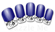 3D Nail Art Sticker Decals Transfer Stickers French Tip Design (3D819)