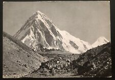 1930s Nepal Real Picture Postcard Cover RpPC to Siebnen Switzerland Mt Pumo R1
