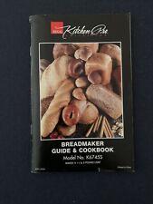 New listing Regal Kitchen Pro Collection Breadmaker Guide & Cookbook Model K6745S