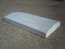 """Coping stones (12"""") 300mm x 600mm Twice weathered, various colours - delivery"""