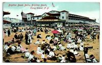 1910 Brighton Beach Baths, Brighton Beach, Coney Island, NY Postcard *5H6