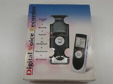 DIGITECH XC0255 DIGITAL VOICE ACTIVATED PROGRAMMABLE VOICE RECORDER