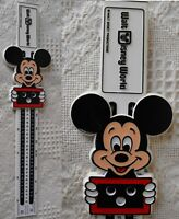 Vintage Walt Disney Math Mickey Mouse Slide Ruler Addition +-/x F and C