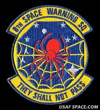 "USAF 8TH SPACE WARNING SQ. - THEY SHALL NOT PASS - 4 "" AIR FORCE PATCH"