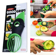 USA Cook Art Top 3 in 1 Avocado Cutter Tool Slicer Peeler Scoop Slices Knife