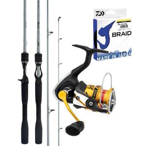Flathead Soft Plastic Rod & Reel Fishing Combo BRAND NEW @ Ottos Tackle World