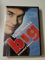Big Dvd 2007 2-Disc Set, Extended Version Tom Hanks directors cut
