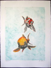 "John Battenberg "" Two Oldies, 2008,"" Color Monotype"