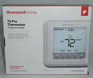 Honeywell T6 PRO Programable Thermostat TH6210U2001