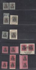 Marienwerder 1920 75pfg and 80pfg Germania proof collection, Michel 18P-19P(12)