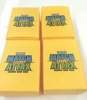 Topps Match Attax Vinyl Semi Rigid 70-card Squad box x 60- NRL Standard Card