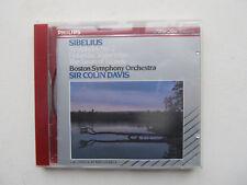 SIBELIUS Symphony No.2 / Finlandia CD BSO Colin Davis Philips 420 490-2 France