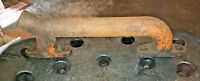 Allis Chalmers WC WF tractor engine water outlet pipe AC