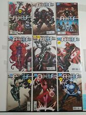 Avengers&X-Men AXIS 1-9 COMPLETE 1:50 CONNECTING YOUNG GUNS VARIANT SET NM