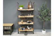 Industrial Shelving Unit With Wheels