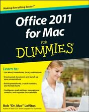 Office 2011 for Mac For Dummies,Bob LeVitus