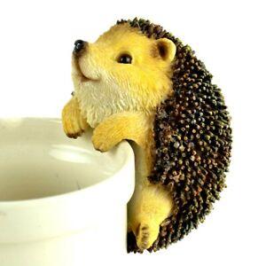 "Touch of Nature 5"" Brown Hedgehog Pot Hanger MI 56150 Miniature Garden"
