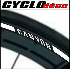 LISERET JANTE VELO stickers autocollant CANYON CINTAS RIM STRIPES 40 COLORS
