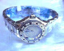 NEW TECHNOMARINE LADY DTLSDBM 28MM BLK/WH DIAMOND PAVE FACE +BEZEL WATCH  $3450
