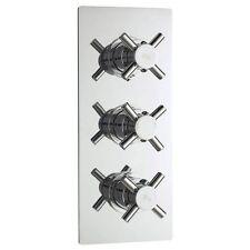 Hudson Reed Kristal Triple Concealed Thermostatic Shower Valve - KRI3211