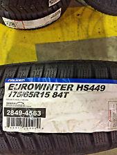 2 New 175 65 15 Falken Euro Winter HS449 Snow Tires