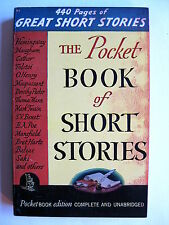 The Pocket Book of Short Stories   13th printing: January 1943   pb